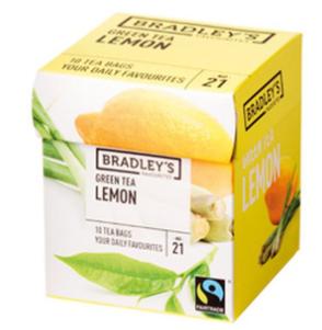 Bradley's Te verde al limone