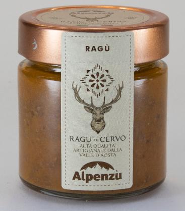 Ragù di cervo -Alpenzu
