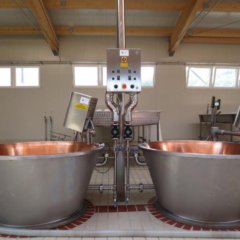 Agitatori per la produzione del formaggio