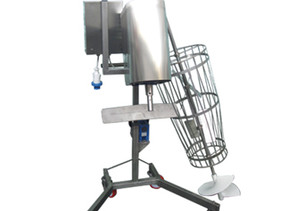Spinatrice mobile