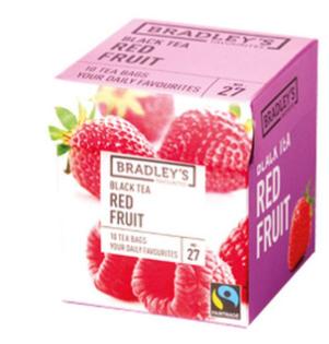 Bradley's Te nero ai frutti rossi