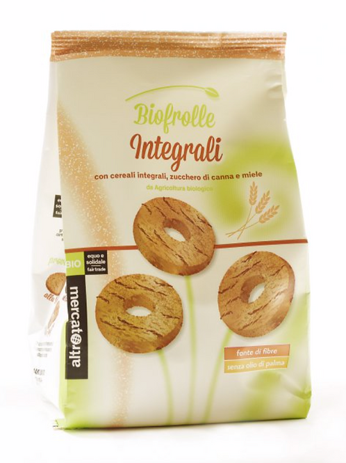 Biscotti Biofrolle integrali BIO