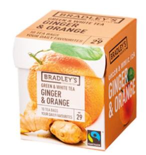Bradley's Te verde all'arancia