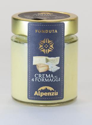 Crema ai quattro formaggi -Alpenzu