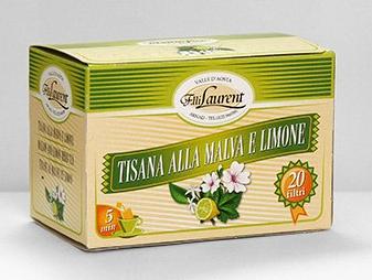 Alpenzu - Tisana alla malva e limone