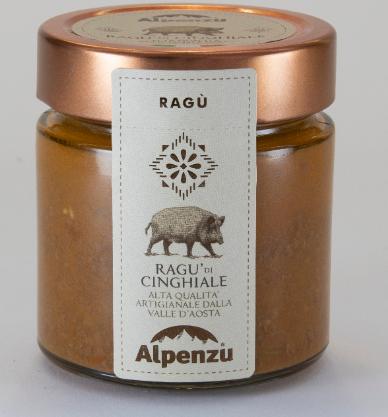 Ragù di cinghiale -Alpenzu
