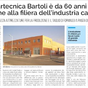 Rassegna Stampa: Gazzetta di Parma - Speciale Industria Alimentare