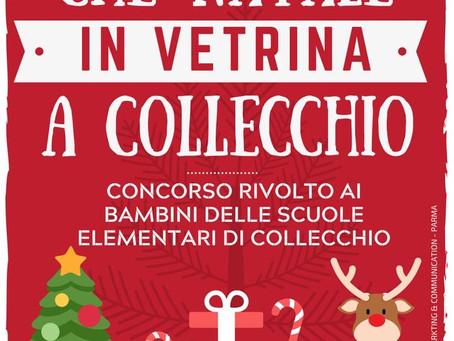 Che Natale in vetrina a Collecchio