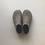Thumbnail: Wool felted room shoes / Dark grey, 24cm
