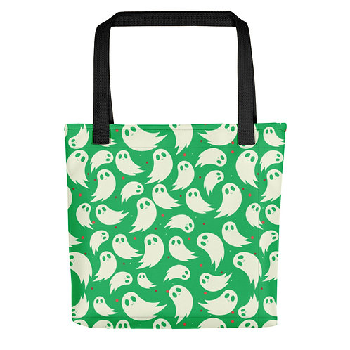 GREEN GHOSTS TOTE