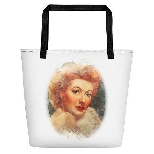 Greer Garson Big Tote Bag