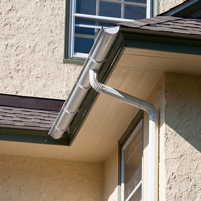 white gutter and downspout aluminum - Brookhaven, PA