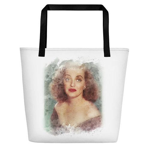 Bette Davis Big Tote Bag