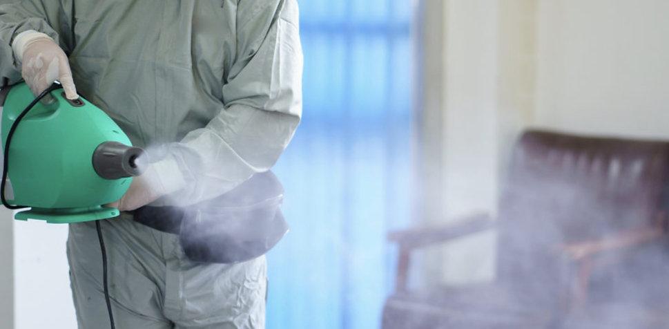 disinfectant fogger machine m&d cleansta