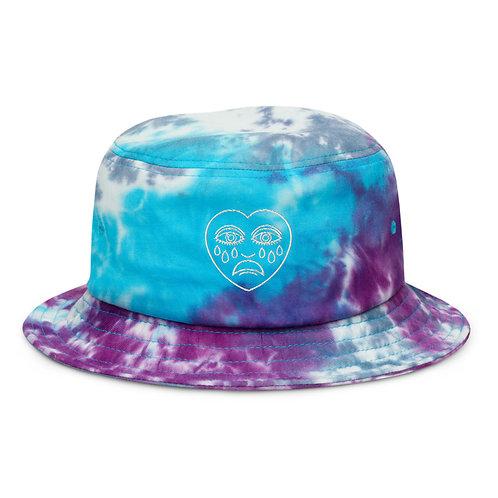 CRYBABY TIE-DYE BUCKET HAT