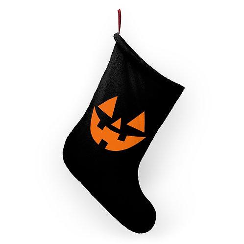 Goth Jack-o-Lantern Halloween Stockings