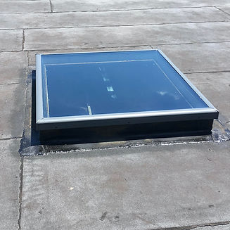 commercial skylight on flat roofing - Havertown, PA
