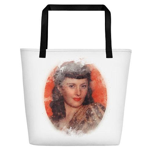 Barbara Stanwyck Big Tote Bag
