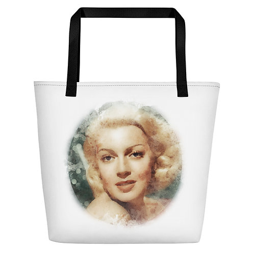 Lana Turner Big Tote Bag
