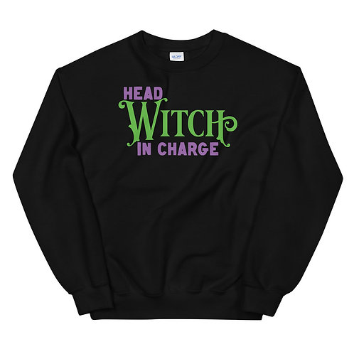 HEAD WITCH IN CHARGE SWEATSHIRT