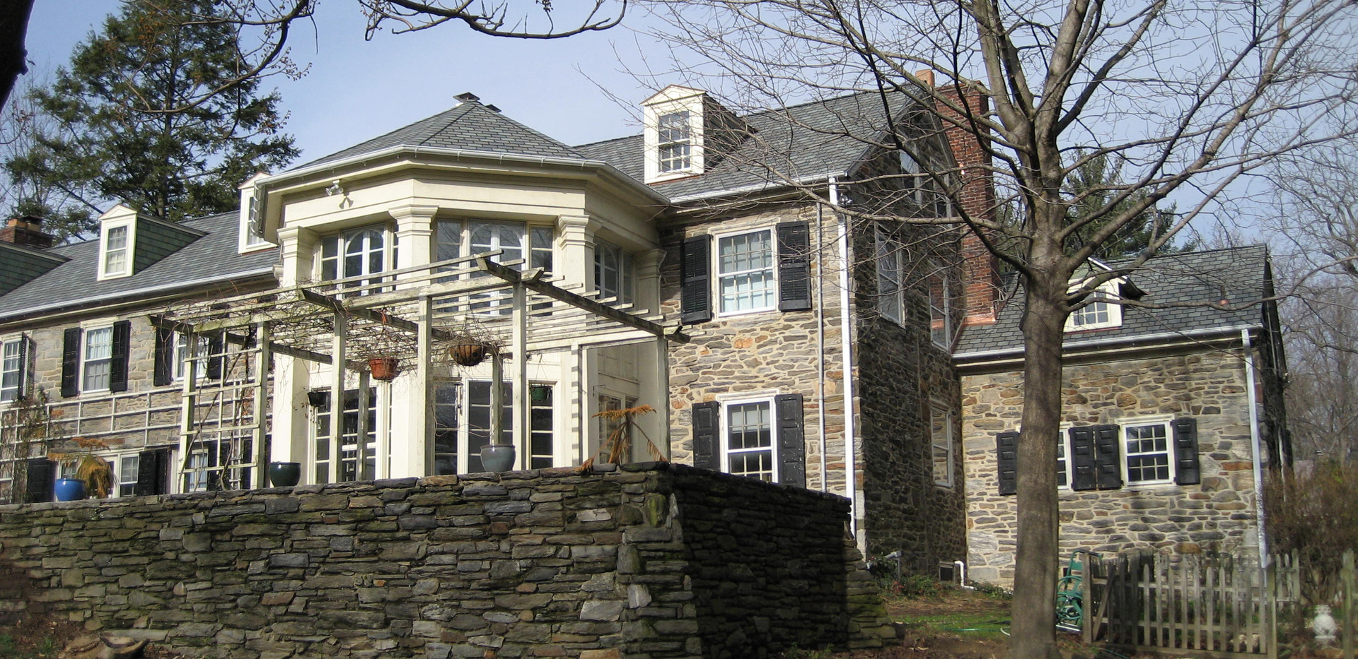 Historic Restoration and new roof installation- Wallingford, PA
