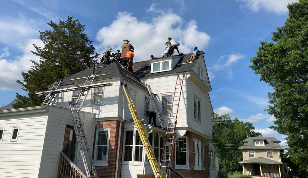 Rutledge, PA - new roof construction