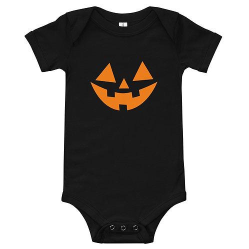 JACK-O-LANTERN BABY ONESIE
