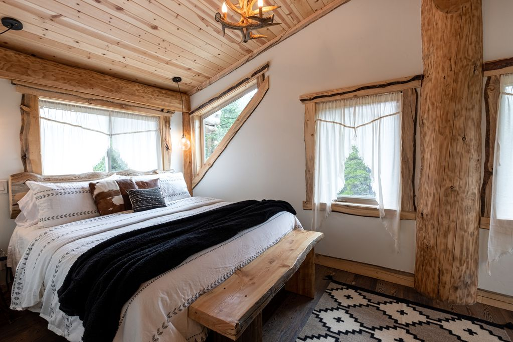 One of the Treehouse Bedrooms