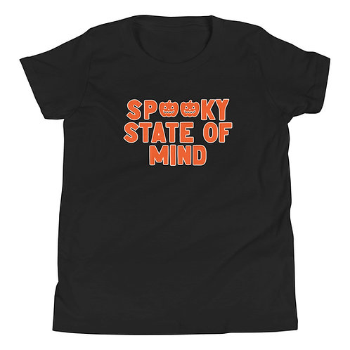 SPOOKY STATE OF MIND YOUTH TEE