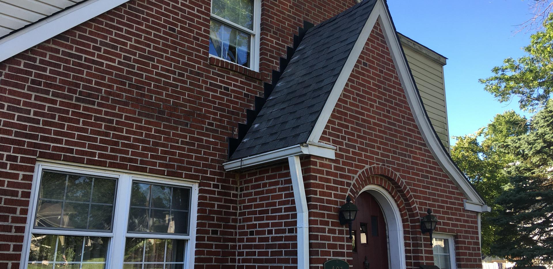 Wallingford, PA - New roof and wall repair / siding installation
