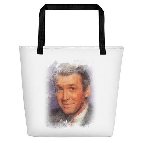Jimmy Stewart Big Tote Bag
