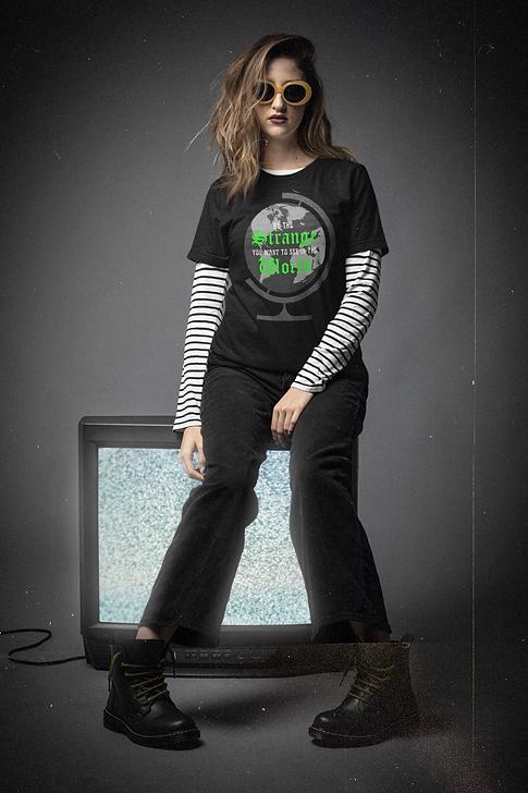 be the strange t-shirt