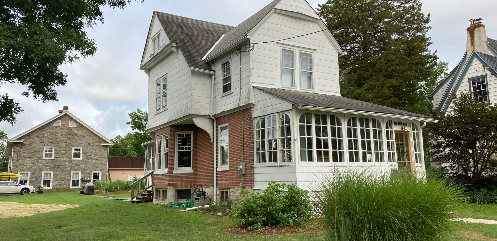 Rutledge, PA - new gutters and roof cons