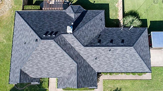 drone picture of roof in Rose Valley, PA