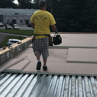 commercial flat roof installation - Swarthmore, PA