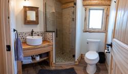 Panoramic view of bathroom