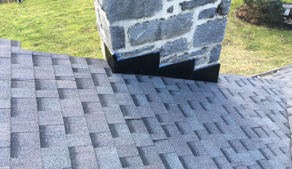 Wallingford, PA - close up asphalt shingles