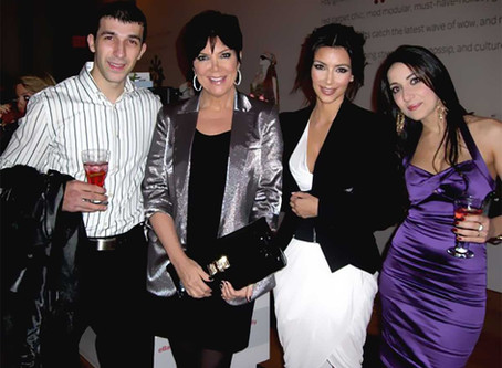 NYC Private Event with Kim Kardashian and Kris Jenner