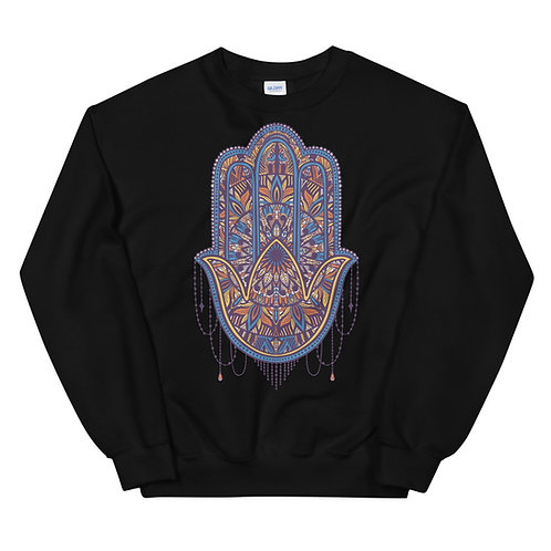 Fancy Hamsa Sweatshirt