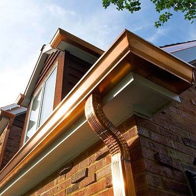 custom copper gutters long lasting specialty materials - Lower Merion, PA