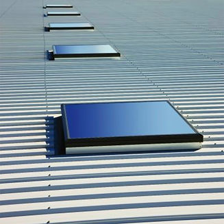 commercial skylights on metal roofing - Newtown Square, PA