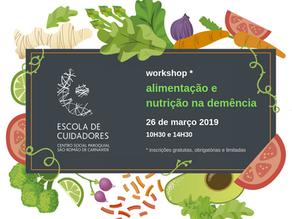 Escola de Cuidadores promove workshop sobre alimentação e nutrição na demência