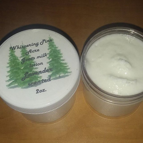 Lavender scented lotion