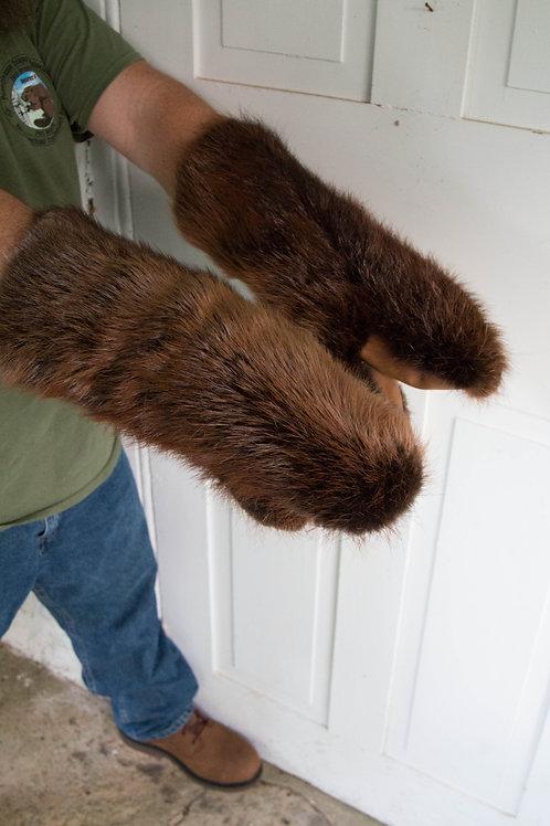 Beaver mittens