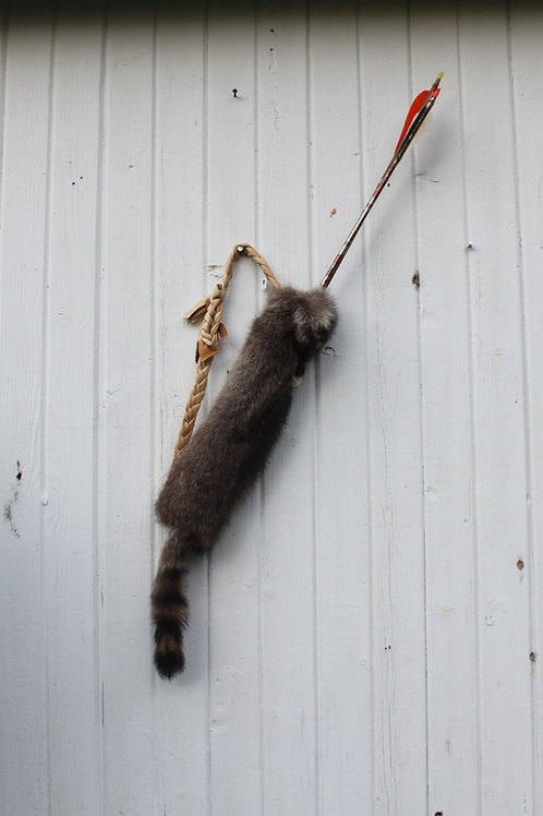 Raccoon youth quiver