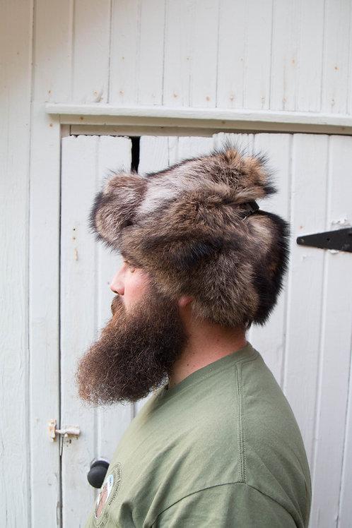 trooper style fur hat