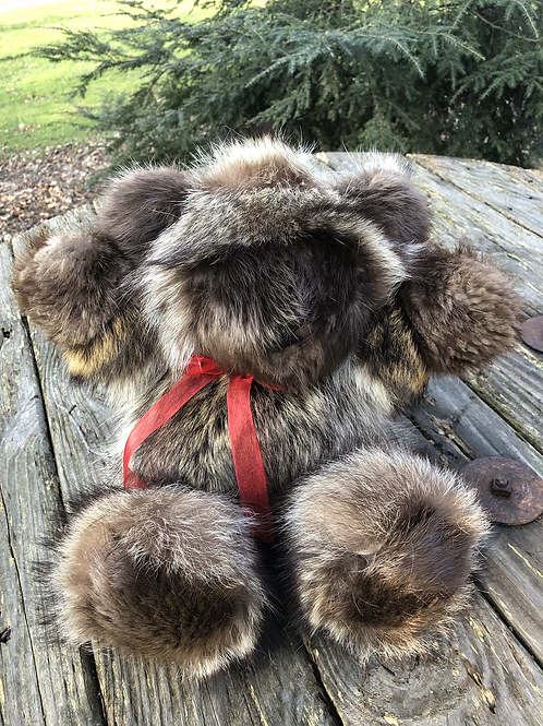 Raccoon/ Beaver teddy Bear