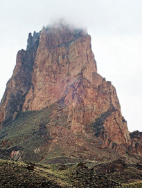 Monument Valley in the Rain