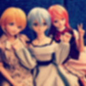 Three lovely Dollfie Dream._#ddh07 #ddh0