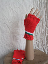 welsh fingerless mitts